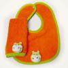 Set de babita y babero naranja